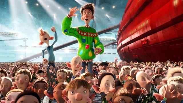 "Arthur (voiced by James McAvoy) in ""Arthur Christmas,"" an animated film produced by Aardman Animations for Sony Pictures Animation. (Deseret Photo)"