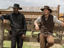 "Denzel Washington, left, and Chris Pratt star in the remake of ""The Magnificent Seven,"" now on Blu-ray and DVD. (Deseret Photo)"