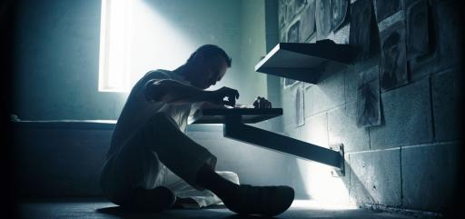 """Callum Lynch (Michael Fassbender) tries to make sense of his incredible experiences in """"Assassin's Creed."""" (Deseret Photo)"""