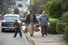 "Denzel Washington plays Troy Maxson and Stephen McKinley Henderson plays Jim Bono in ""Fences."" (Deseret Photo)"