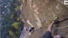 IMAGE: Have You Seen This? Free climber flies up cliff with no rope