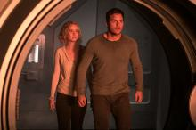 Jennifer Lawrence and Chris Pratt star in Columbia Pictures' PASSENGERS. (Deseret Photo)