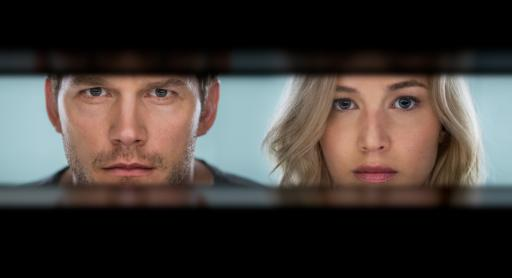 Chris Pratt and Jennifer Lawrence star in Columbia Pictures' PASSENGERS. (Deseret Photo)