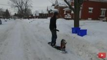IMAGE: Have You Seen This? Jet-powered snowboard