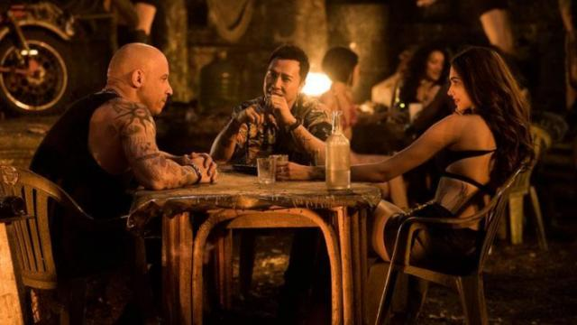 "Vin Diesel, left, as Xander Cage, Donnie Yen as Xiang and Deepika Padukone as Serena Unger in ""xXx: Return of Xander Cage."" (Deseret Photo)"