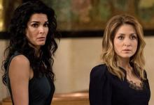 "Boston police detective Jane Rizzoli (Angie Harmon) and her best friend and co-worker, medical examiner Maura Isles (Sasha Alexander), wrap things up in ""Rizzoli & Isles: The Seventh and Final Season,"" now on DVD. (Deseret Photo)"