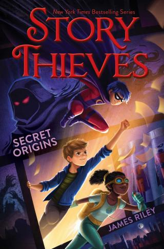"""""""Story Thieves: Secret Origins"""" is by James Riley. (Deseret Photo)"""