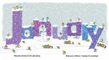 IMAGES: Make winter more vibrant with color-themed picture books