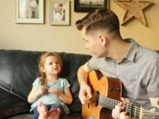 This adorable little girl is no stranger to Have You Seen This. She's back and this time she's singing with her dad, who's not too shabby himself. (Deseret Photo)