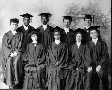 """A still from """"Tell Them We Are Rising: The Story of Black Colleges and Universities,"""" directed by Stanley Nelson. (Deseret Photo)"""