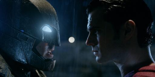 Ben Affleck and Henry Cavill in Batman v Superman: Dawn of Justice (2016) (Deseret Photo)