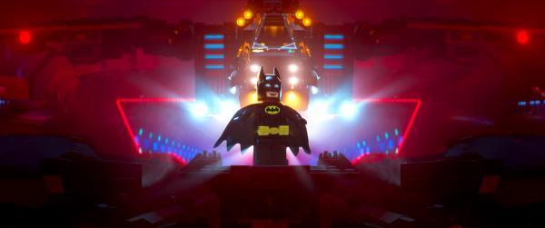 "Lego minifigure Batman (voiced by Will Arnett) in the 3-D computer animated adventure ""The Lego Batman Movie."" (Deseret Photo)"