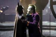 "The Caped Crusader (Michael Keaton) confronts The Joker (Jack Nicholson) in Tim Burton's ""Batman"" (1989). (Deseret Photo)"