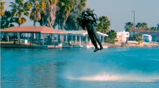 Yesterday I gave you a functioning hover bike. Today you're getting an actual jetpack. Life is good. (Deseret Photo)