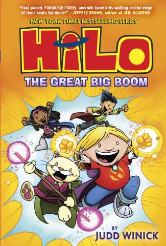 """Hilo: The Great Big Boom"" is by Judd Winick. (Deseret Photo)"