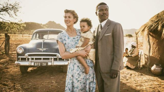 David Oyelowo and Rosamund Pike in A United Kingdom (2016) (Deseret Photo)