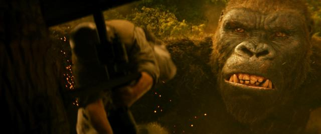 """Kong in a scene from """"Kong: Skull Island."""" (Deseret Photo)"""