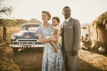 "Rosamund Pike as Ruth Williams and David Oyelowo as Seretse Khama in ""A United Kingdom."" (Deseret Photo)"