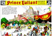 IMAGES: Comics' sweeping graphic novel 'Prince Valiant' turns 80