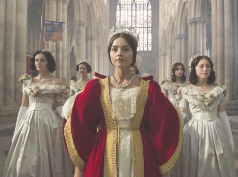 "Jenna Coleman stars as the young queen of England in ""Victoria,"" a series showing on PBS in the United States. The first season is now on Blu-ray and DVD. (Deseret Photo)"
