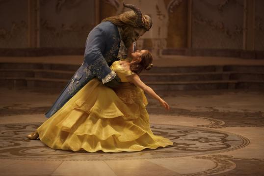 """Emma Watson stars as Belle and Dan Stevens as the Beast in Disney's """"Beauty and the Beast,"""" a live-action adaptation of the studio's animated classic directed by Bill Condon. (Deseret Photo)"""
