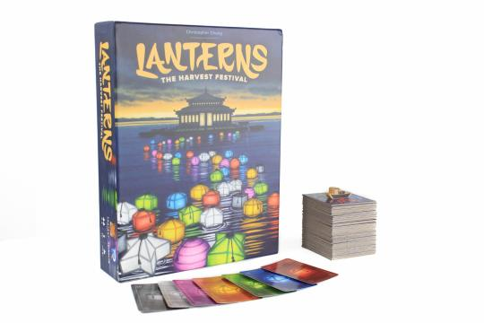 Lanterns: The Harvest Festival is a tile placement game set in imperial China. Players act as artisans decorating the palace lake with floating lanterns. The artisan who earns the most honor before the festival starts wins the game. (Deseret Photo)