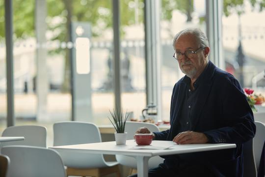 "Jim Broadbent in ""The Sense of an Ending,"" a film based on the Booker Award-winning novel of the same name by Julian Barnes. (Deseret Photo)"