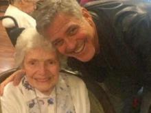 George Clooney surprises fan on 87th birthday