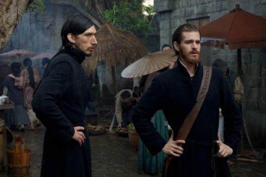 """Adam Driver, left, and Andrew Garfield star in Martin Scorsese's """"Silence,"""" now on Blu-ray and DVD. (Deseret Photo)"""