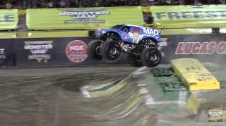 I'm not a monster truck rally guy, but if this kind of stuff happens a lot maybe I should be. (Deseret Photo)
