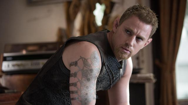 "Channing Tatum as Caine Wise in ""Jupiter Ascending."" (Deseret Photo)"