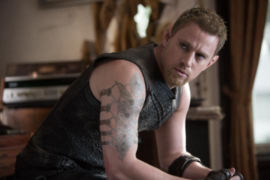 """Channing Tatum as Caine Wise in """"Jupiter Ascending."""" (Deseret Photo)"""