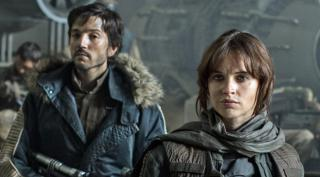 """Diego Luna and Felicity Jones star in the prequel """"Rogue One: A Star Wars Story,"""" now on Blu-ray and DVD. (Deseret Photo)"""