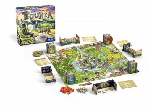 Touria the board game is an excellent choice for families. It has appropriate content, excellent art and fun and easy rules. It looks beautiful when it's all set up. (Deseret Photo)