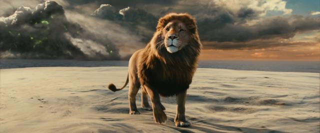 """Aslan is in """"Chronicles of Narnia: Voyage of the Dawn Treader."""" (Deseret Photo)"""