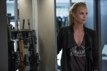 """Charlize Theron in """"The Fate of the Furious."""" (Deseret Photo)"""