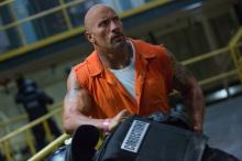 """DWAYNE JOHNSON in """"The Fate of the Furious.""""  On the heels of 2015's """"Furious 7,"""" one of the fastest movies to reach $1 billion worldwide in box-office history and the sixth-biggest global title of all time, comes the newest chapter in one of the most popular and enduring motion-picture serials of all time. (Deseret Photo)"""