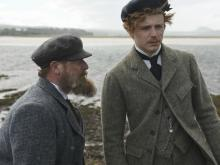 """Peter Mullan, left, and Jack Lowden star in the sports biography """"Tommy's Honour"""" as real-life father-and-son Scottish golfers Tom and Tommy Morris, who laid the groundwork for significant strides in the game, circa 1870. (Deseret Photo)"""