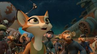 "Vix (voice of Jessica Biel) in ""Spark: A Space Tail."" (Deseret Photo)"