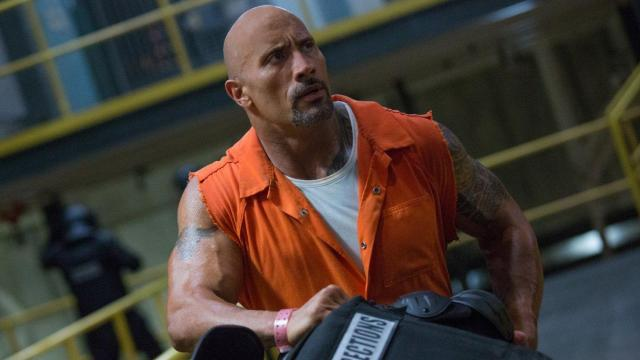 Dwayne Johnson in The Fate of the Furious (2017) (Deseret Photo)