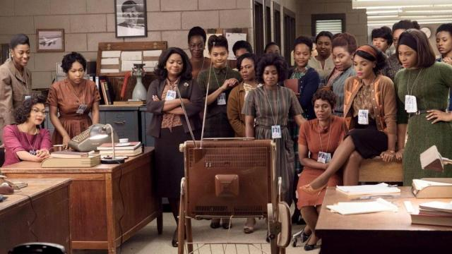 "African-American women hired to work as ""human computers"" for the NASA space program in the early 1960s watch television reports about the fruits of their labors in ""Hidden Figures,"" one of 2016's best movies, now on Blu-ray, DVD and on-demand streaming sites. (Deseret Photo)"