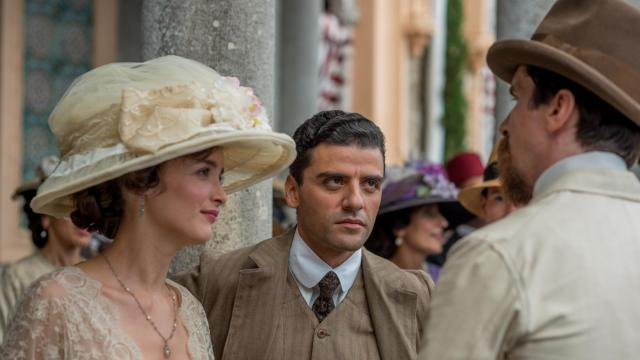 "Charlotte Le Bon, left, Oscar Isaac and Christian Bale in ""The Promise."" (Deseret Photo)"