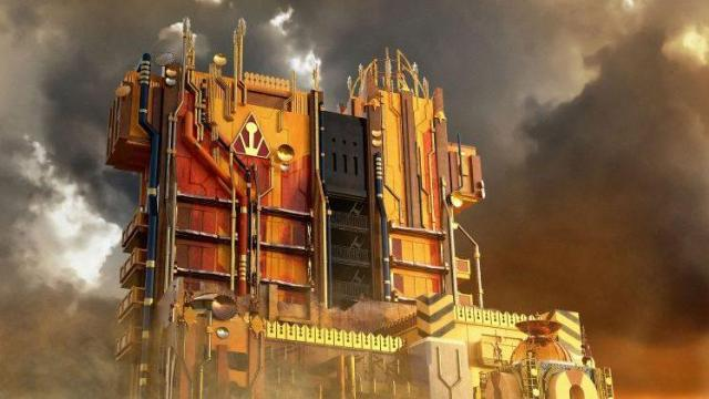 An artist's rendering shows Disneyland Resort's new Guardians of the Galaxy ­- Mission: BREAKOUT! ride, opening May 27 at Disney California Adventure Park. (Deseret Photo)