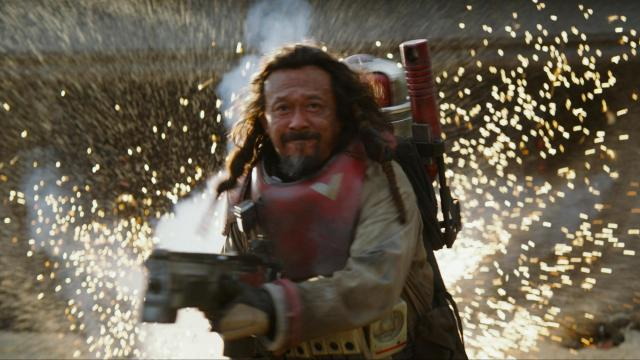 "Jiang Wen as Baze in ""Rogue One: A Star Wars Story."" (Deseret Photo)"