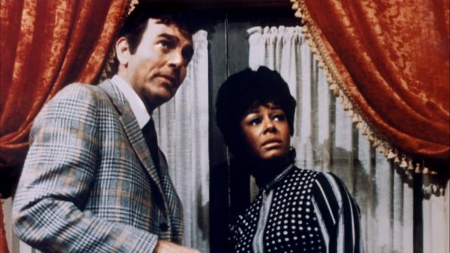 """Joe Mannix (Mike Conners) and his assistant Peggy (Gail Fisher) are the lead characters in the 1967-75 private-eye series """"Mannix,"""" now available in a new complete-series DVD set. (Deseret Photo)"""