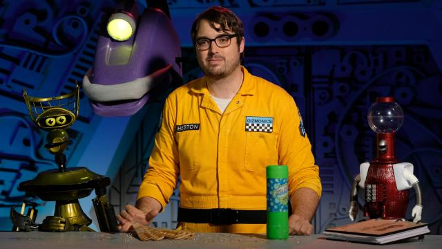 """Mystery Science Theater 3000"" starring Jonah Ray is on Netflix. (Deseret Photo)"