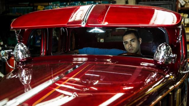 "Gabriel Chavarria stars as Danny Alvarez in ""Lowriders."" (Deseret Photo)"