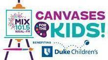 MIX 101.5 Canvases for the Kids