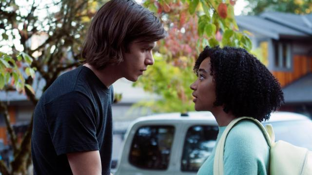 "Nick Robinson as Olly and Amandla Stenberg as Maddy in ""Everything, Everything."" (Deseret Photo)"
