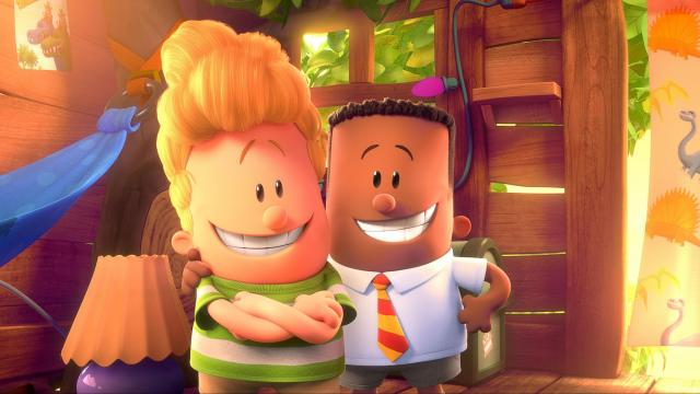 Less potty humor, more love: Captain Underpants creator comes to